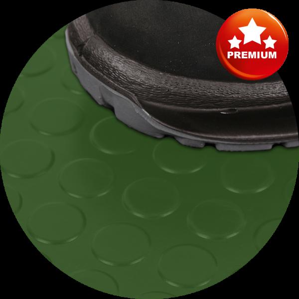 Flachnoppenmatten Premium grün