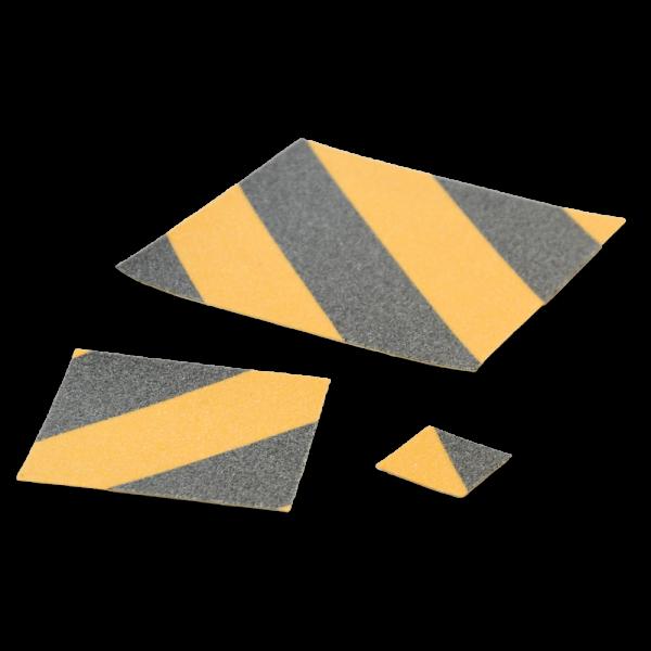 ARMA Slide-Protect Basic schwarz-gelb Antirutschbeläge R13